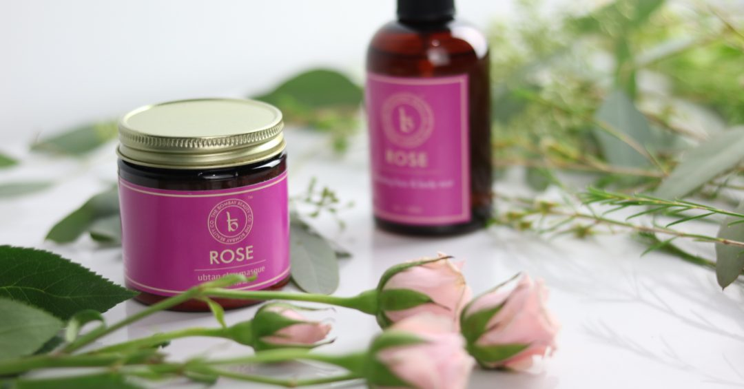Bombay beauty co rose clay mask ayurveda